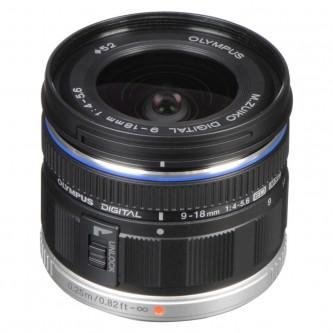 Olympus 9-18mm f/4,0-5,6 sort