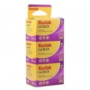 Kodak Gold 200 135-36 3 pak