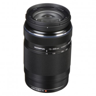 Olympus 75-300mm f/4,8-6,7 sort