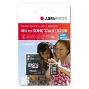 Agfa Micro SD m/SD adapter 32GB