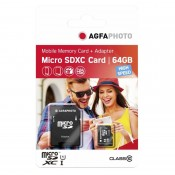 Agfa Micro SDHC m/SD adapter 64MB