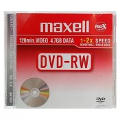 Maxell DVD RW 4,7 GB Data