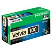 Fuji Velvia RVP 100 ASA 120 5-pak.