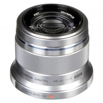 Olympus 45mm f/1,8 sølv