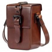 Vintage pouch C-Lux læder brun