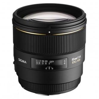 Sigma AF 85mm f/1,4 DG, EX Nikon
