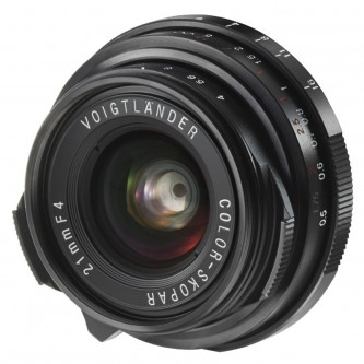 Voigtländer Color_Skopar 21mm f/4,0 P-Type, Black