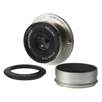 Voigtländer Heliar 40 mm f/2,8 Nickel for close focus adapter VM/E