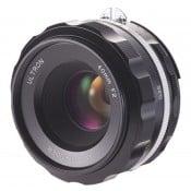 Voigtländer Ultron 40mm f/2.0 SLII-S aspherical Nikon Ai-S sort