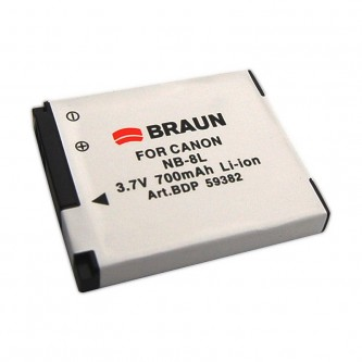 Braun B174 3,7/700 NB-8L Canon