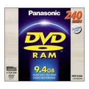 Panasonic 9,4 GB DVD Ram