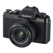 Fujifilm X-T100 m/15-45mm f/3.5-5.6 OIS PZ sort