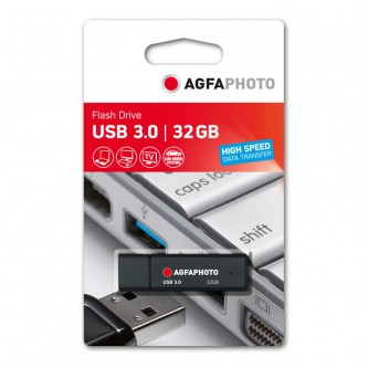 Agfa USB 3.0 32 GB sort