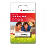Agfa USB 2.0 stick. 4 GB