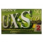 Sony kassettebånd HPC II UX-S Crome 90 min. 2 pack
