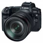 Canon EOS R m RF 24-105mm + adapter EF-EOS-R