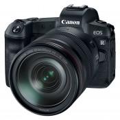 Canon EOS R m/RF 24-105mm + adapter EF-EOS-R