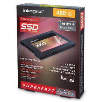 """Integral P Series 4 Sata III 2.5"""" SSD 480 GB"""