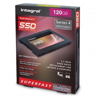 """Integral P Series 4 Sata III 2.5"""" SSD 120 GB"""