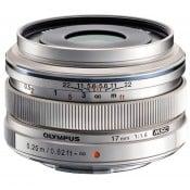 Olympus 17mm f/1,8 sølv