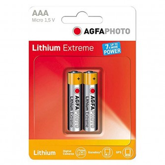 AGFA LITHIUM EXTREME 2 X AAA