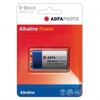 AGFA E-BLOCK 9V ALKALINE BATTERI