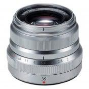 Fujinon XF 35mm f/2.0 WR sølv