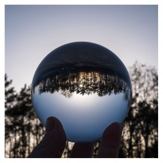 Rollei Lensballs 90 mm glaskugle