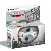 Agfa LeBox engangskamera Sort/hvid film