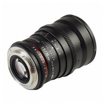 Samyang 35mm T1,5 VDSLR (Full-Frame) Fuji X, VDSLR II