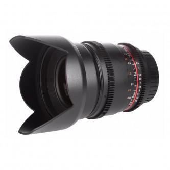Samyang 16mm T2,2 ED VDSLR (APS-C) MFT, VDSLR II