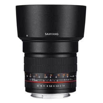 Samyang 85mm f/1,4 (Full Frame) Fuji X