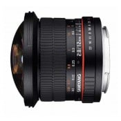Samyang 12mm Fisheye f/2,8 MFT