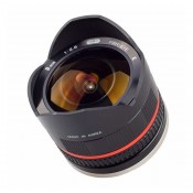 Samyang 8mm Fisheye f/2,8, (APS-C) Sony E, Sort II