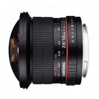 Samyang 12mm Fisheye f/2,8 (full-frame)