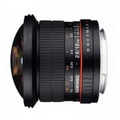 Samyang 12mm Fisheye f/2,8 (full-frame) Canon