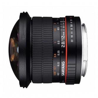Samyang 12mm Fisheye f/2,8 (full-frame) Canon