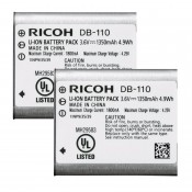 Ricoh/Pentax kit dobbelt pak batteri