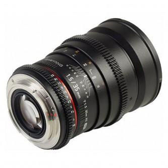 Samyang 35mm T1,5 VDSLR (Full-Frame) Canon M, VDSLR II