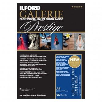 Ilford Galerie Prestige Gold Cotton Textured, 127cm. x 15m.