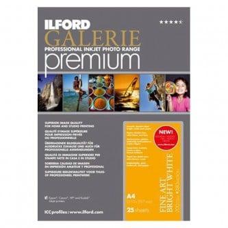 Ilford Galerie Premium Bright White, 25 ark A3