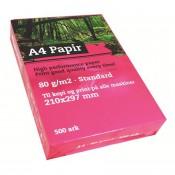 A4 papir, 80g/m2, 500 ark