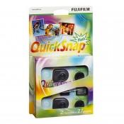 Fujifilm QuickSnap Flash 400 engangskamera 2pak