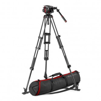 Manfrotto Stativkit Video Kulfiber