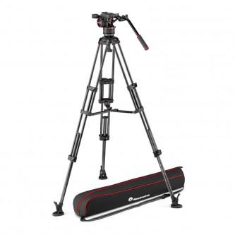 Manfrotto Stativkit Video Kulfiber Nitrotech N8 + 545GCF