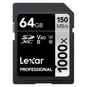 Lexar 64GB 1000X SDXC UHS-II V60
