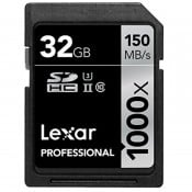 Lexar 32GB 1000X SDXC UHS-II V60