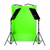 Nanlite Compac 4x100 Green Screen 1822 U-kit