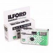 Ilford engangskamera Sort / hvid flash