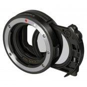 Canon adapter EF-EOS R med drop in filter, C-PL